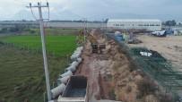 ŞEBEKE HATTI - Bahçeyaka Ve Altınkale Kanalizasyona Kavuşuyor