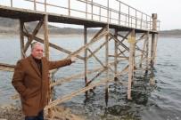 HİDROELEKTRİK - Demirköprü Barajı'nda Korkutan Görüntü