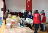 YARDIM KAMPANYASI - Gençlik Merkezinden İdlib'e Yardım