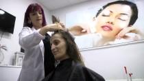 KANSER TEDAVİSİ - Kanser Hastaları Saç Ve Cilt Bakımıyla Moral Buldu
