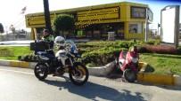 Polisin 'Dur' İhtarına Uymayan Motosikletli, Kaza Yapınca Yakayı Ele Verdi