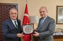 ULAŞTIRMA VE ALTYAPI BAKANI - Rektör Çomaklı, Ulaştırma Ve Altyapı Bakanı Turhan İle Bir Araya Geldi
