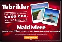 SİBER GÜVENLİK - 130 Bin Kişi Ücretsiz Maldivler Tatiline İnandı