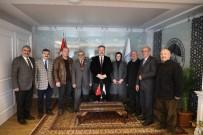 MAHALLİ İDARELER - Anadolu Muhtarlar Derneği'nden Başkan Palancıoğlu'na Ziyaret