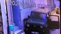 ARBEDE - Beyoğlu'nda Ünlü Profesörün Yaşadığı Hırsız Şoku Kameraya Yansıdı