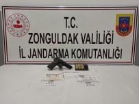 KURUSIKI TABANCA - Jandarmadan Uyuşturucu Operasyonu Açıklaması 1 Gözaltı