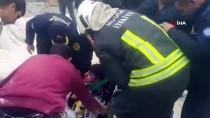 HÜKÜMET KONAĞI - Muğla'da Kanalizasyon Çukuruna Düşen İşçi Yaralandı