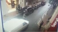 KAMERA - (Özel) Nişantaşı'nda Kavga Esnasında Kontrolden Çıkan Araç Yaşlı Kadını Ezdi