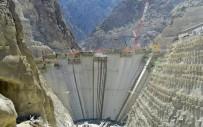 HİDROELEKTRİK - Yusufeli Barajında Hızla Büyüyor