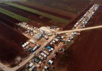 YAŞAM MÜCADELESİ - İdlib'in Sarmada Kırsalında İnsanlık Dramı
