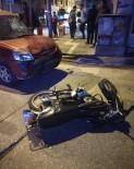 MOTOSİKLET SÜRÜCÜSÜ - Samandağ'da Otomobil İle Motosiklet Çarpıştı Açıklaması 2 Yaralı