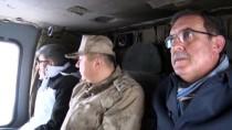 ÇIĞ ALTINDA - Van Valisi Bilmez Çığ Bölgesinde Helikopterle İncelemede Bulundu Açıklaması
