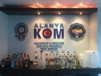 KAÇAK İÇKİ - Alanya'da İki Otele Kaçak İçki Baskını