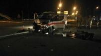 DİREKSİYON - Erzincan'da Kaza Yaptıktan Sonra Olay Yerinden Kaçmaya Çalışan Sürücü Polise Yakalandı