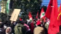 BEYRUT - Lübnan'da Trump'ın Sözde Orta Doğu Barış Planı Protesto Edildi Açıklaması 6 Yaralı