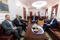 CUMHURBAŞKANLIĞI - Niğde Belediye Başkanı Emrah Özdemir'den Ankara Temasları