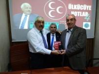 KOMANDO - Türk Ocağı, Recep Alyamaç'ı Konuk Etti