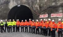 Zigana Tüneli'nde Çalışmalar Sürüyor