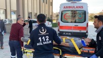 MOTOSİKLET SÜRÜCÜSÜ - Adıyaman'da Motosiklet Kaza Açıklaması 1 Yaralı