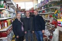 DOĞUM GÜNÜ - AK Partili Belediye Başkanı Esnafı Ziyaret Etti