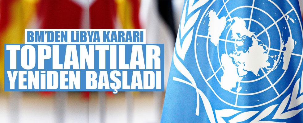 BM'den Libya kararı: Yeniden başladı