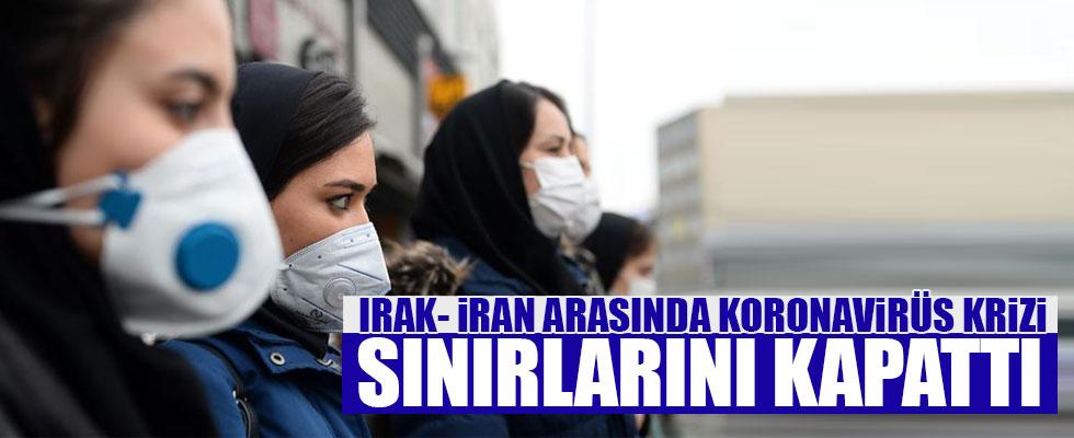 Irak ve İran arasında koronavirüs krizi!