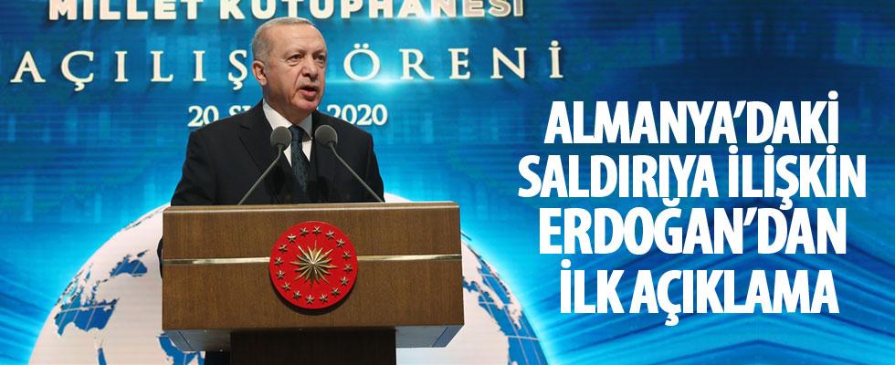 Cumhurbaşkanı Erdoğan Millet Kütüphanesinin açılışında konuştu