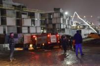 SARIYER - Sarıyer'deki Villa İnşaatında Beton Mikseri Devrildi Açıklaması 1 Yaralı