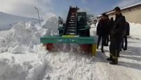 YAKIT TÜKETİMİ - Tatvanlı Girişimciden Yüzde 80'İ Yerli Ve Milli Kar Küreme Aracı