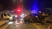 TURGUT ÖZAL - Ters Yöne Giren Alkollü Sürücü Dehşet Saçtı