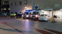 EMNIYET KEMERI - Trafik Kontrolü Yapan Polise Otomobil Çarptı