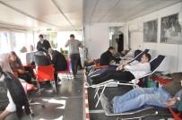 KAN BAĞıŞı - Afyonkarahisarlı Vatandaşlar Kan Bağışına İlgisiz Kalmadı