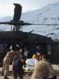 HELIKOPTER - Bahçesaray'daki 5 Hasta Askeri Helikopterle Van'a Sevk Edildi