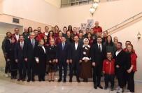 KULÜP BAŞKANI - Bakanlar, Elazığ'ın Basketbol Takımı İle Bir Araya Geldi