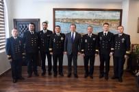 DOĞU AKDENİZ - Başkan Seçer, NATO Gemi Komutanlarını Ağırladı