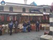 CAFER YıLMAZ - Büyükşehir Zabıta'dan Elmacı Pazarı Ve Bakırcılar Çarşısı'nda Hijyen Denetimi