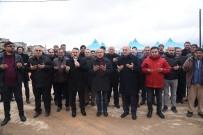 TEMEL ATMA TÖRENİ - Dursunbey TOKİ'nin Temeli Atıldı