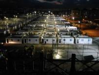 GÖLBAŞI - Elazığ'da konteyner kent kurulum çalışmaları sürüyor