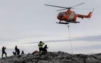 HELIKOPTER - Türk Ekibi Beyaz Kıta'da Çalışmalara Başladı