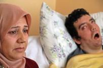 İSTANBUL TEKNIK ÜNIVERSITESI - 6 Yıldır Gözlerini Kırpamıyor, Kan Çanağına Dönen Gözleri Bantla Kapatılıyor