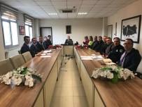 KARAYOLLARI - Burhaniye'de Otobüs Kazalarının Önlenmesi İçin Alınacak Tedbirler Görüşüldü