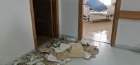 BİNALİ YILDIRIM - Çatıdaki Kar Eriyince Üniversite Hastanesini Su Bastı