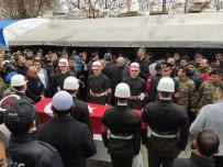 İDLIB - İdlib Şehidi Teğmen Memleketi Hatay'da Toprağa Verildi