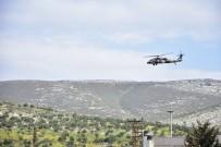 HELIKOPTER - Sınırda Askeri Helikopter Hareketliliği