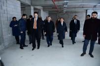 TURGUT ÖZAL - Turgut Özal Üniversitesi Beylerderesi Kampüs İnşaatı Yükseliyor.