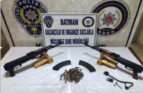 İL EMNİYET MÜDÜRLÜĞÜ - Batman'da Silah Kaçakçılarına Darbe