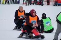 ERCIYES - Çiftler 'Artık Çekilmez' Oldun Yarışmasında Ter Döktü