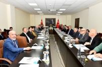 DENIZ TICARET ODASı - 'Deniz Çöpleri Yönetim Komisyonu Toplantısı' Vali Su Başkanlığında Yapıldı