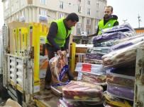 EDREMIT BELEDIYESI - Edremit Belediyesinden Deprem Bölgesine Yardım