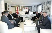 KARAYOLLARI - Karayolları Genel Müdürlüğü Heyetinden Kılınç'a Ziyaret